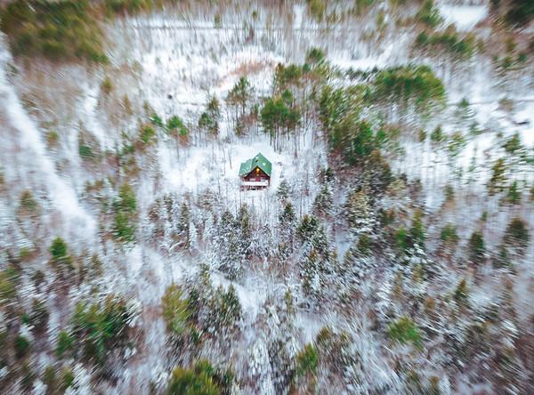 Log Cabin, Maine