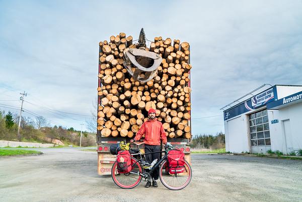 Asad Biking from Greenland to Alaska, Nova Scotia