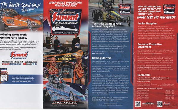 Junior Dragster Brochure 2019