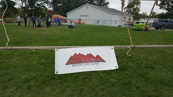 OOAKAG Made a Monkey Bridge for a Scout Event.