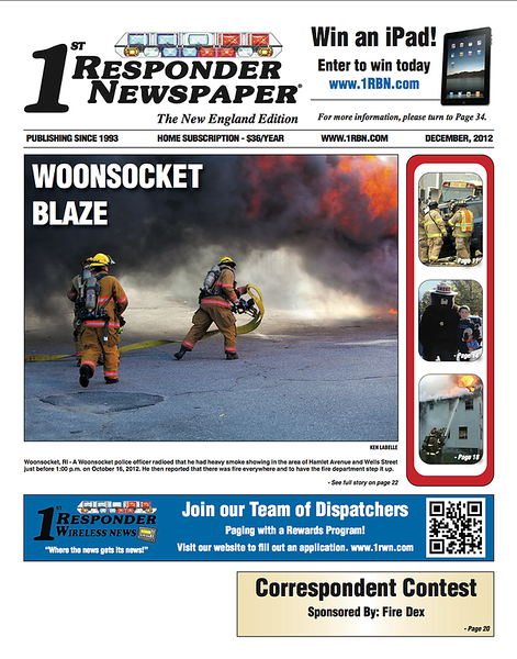 CFPA member Ken LaBelle Dec 12 Cover
