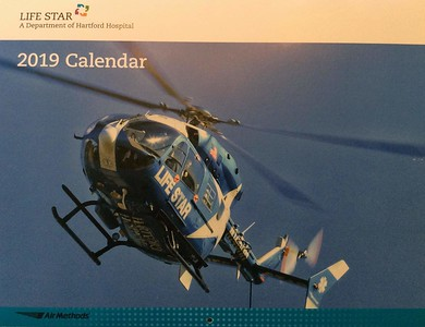 2019 LifeStar Calendar Cover by CFPA Connecticut Member Robert Gerard