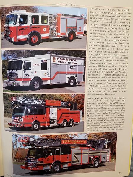 Fire Apparatus Journal Mar-Apr 2019 Photos by CFPA Massachusetts Members Paul Shea and Chuck Lowe