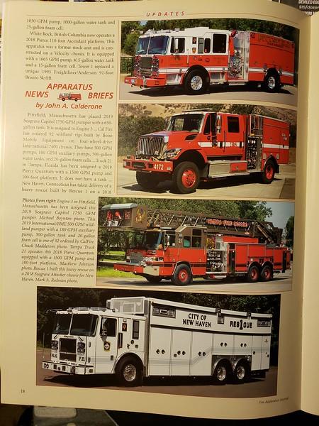 Fire Apparatus Journal Sep-Oct 2019 Photo by CFPA Connecticut Member Mark Redman