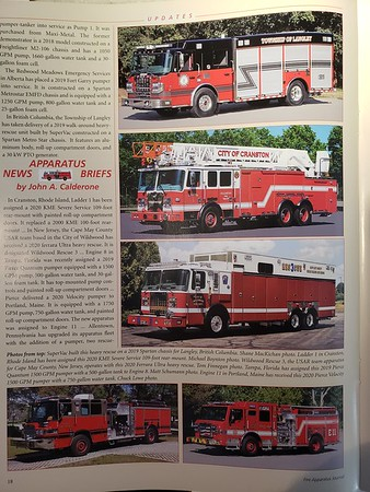 Fire Apparatus Journal Sep-Oct 2020 Photo by CFPA Massachusettes Member Eric Fellows