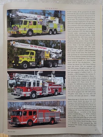 Fire Apparatus Journal May-June 2020 Photo by CFPA Connecticut Member Mark Redman (Top)