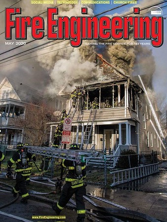 Fire Engineering May 2020 Cover by CFPA President Glenn Duda
