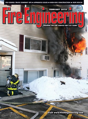 Fire Engineering February 2010 Cover by CFPA Florida Member Scott LaPrade