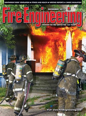 Fire Engineering December 2011 Cover by CFPA Florida Member Scott LaPrade