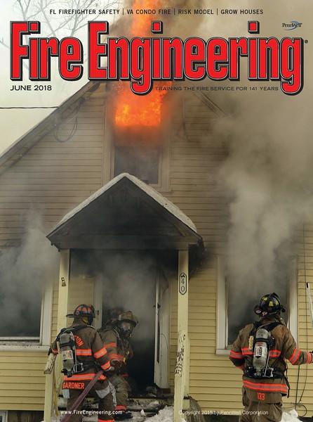 Fire Engineering June 2018 Cover by CFPA Florida Member Scott LaPrade