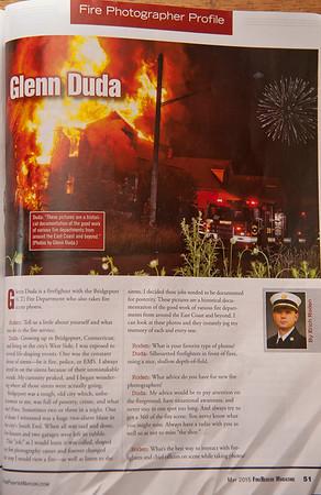 CFPA President Glenn Duda, FireRescue May 2015