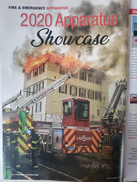 Firehouse Magazine Novermber 2020 Fire Apparatus Feature by CFPA Florida Member Scott LaPrade