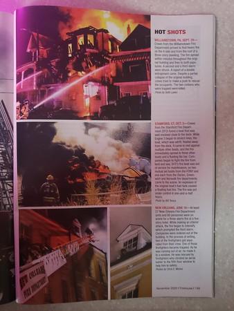 Firehouse Magazine May 2020 Hot Shot by CFPA New Jersey Member Peter Danzo