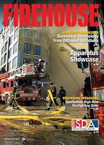 Firehouse Magazine November 2017 Cover by CFPA Florida Member Scott LaPrade