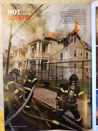 Firehouse Magazine March 2019 Hot Shot by CFPA President Glenn Duda