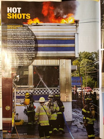 Firehouse Magazine October 2019 Hot SHot by CFPA Member Jon Tenca