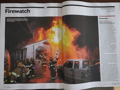 Photo in NFPA Journal Firewatch by CFPA Massachusetts Member Tony Fitzherbert