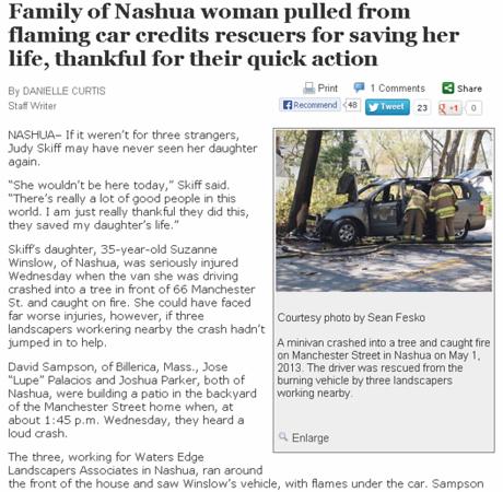Nashua MVA with Fire Telegraph Fesko