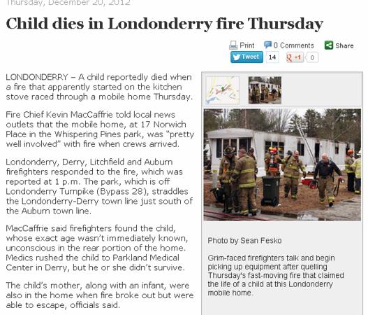 Londonderry Fatal WF Telegraph Fesko