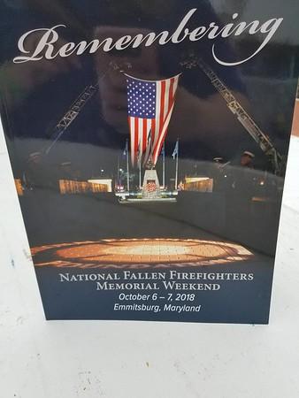 Coral Ruggerio National Fallen Firefighters memorial