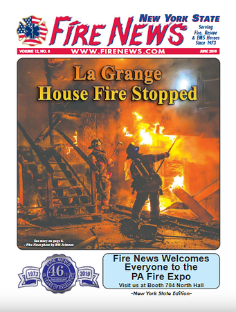 Fire News NYS Edition June 2019 Cover by CFPA New York Member Bill Johnson