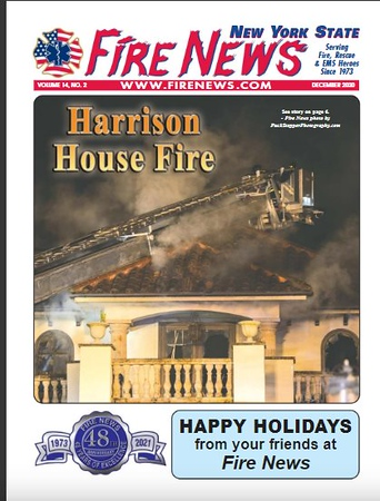 Fire News NYS December 2020 Cover by CFPA Connecticut Jon Tenca