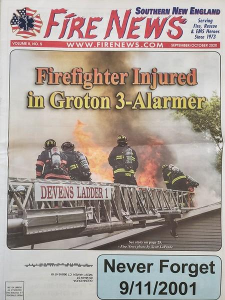 Fire News NE Sep-Oct 2020 Cover by CFPA Florida Member Scott LaPrade