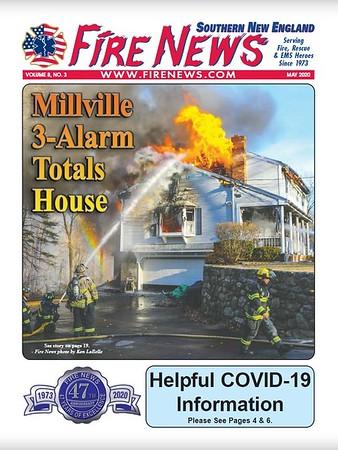 Fire News NE May 2020 Cover by CFPA Rhode Island Member Ken LaBelle