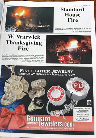 CFPA member Jon Tenca, Fire News January 2017