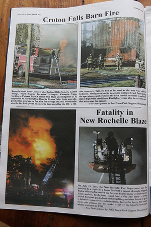 CFPA member Jon Tenca, Fire News March 2017