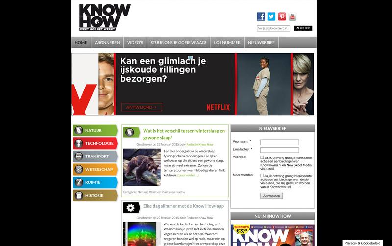 2015-02-22 Website knowhownu nl
