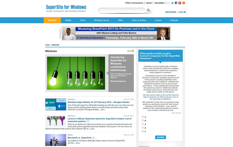 2015-02-22 Website winsupersite com