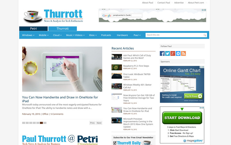 2015-02-22 Website thurrott com