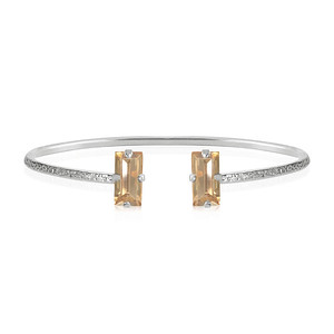 Baguette Bracelet / Golden Shadow Rhodium