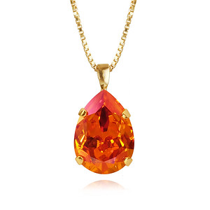 Classic Drop Necklace / Astral Pink Gold