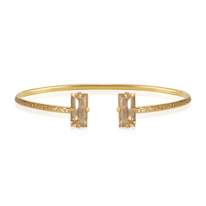Baguette Bracelet / Golden Shadow Gold