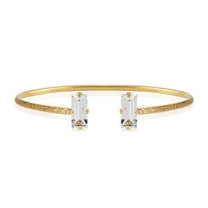 Baguette Bracelet / Crystal Gold