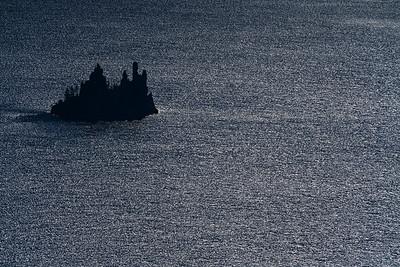 The Phantom Ship, Crater Lake
