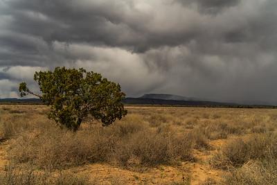 Virga, El Malpais, New Mexico