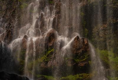 Spray Falls, Mt Rainier