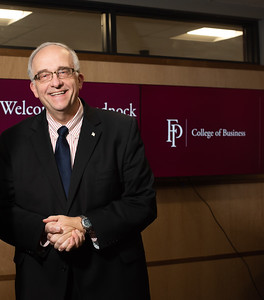 Dr. Norman Faiola, Dean of the College of Business, Franklin Pierce University (not who Sierra interviewed, but Pierre, who she did interview, suggested I photograph the two of them)