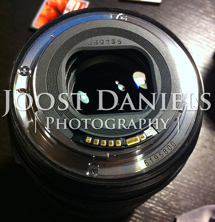 "Stolen: Canon 24-105mm f4 L IS, #5195800<br /> <br /> Stolen from me on December 13th 2013 in San Francisco: my Canon 24-105mm f4 L IS lens, serial number 5195800 and date code U60735. It was attached to my Canon EOS 5D Mark II, serial number 230117654 (also stolen).<br /> <br /> The camera and lens were mounted to my tripod and all taken away from me at gunpoint at Potrero Hill in San Francisco. More info about the incident: <a href=""http://www.joostdaniels.com/Stolen-equipment"">http://www.joostdaniels.com/Stolen-equipment</a>.<br /> <br /> The tripod is an Induro CT314 carbon fiber tripod, serial number CT018280 with Manfrotto ballhead, serial number F0242916.<br /> <br /> If you have any information about this equipment or it is offered for sale to you, please contact me through the link at the left of this page."
