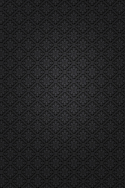 Black Paisley Background 4