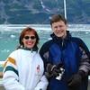 Ann & Justin Bellmor Hubbard Glacier July 2003