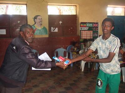 Health and hygiene training - Sponsorship clubs initiative