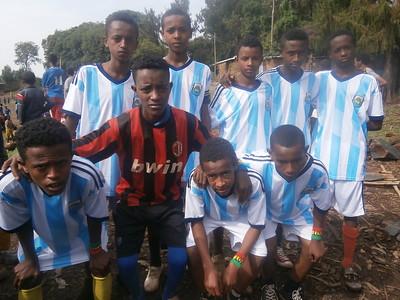 The Link Ethiopia Gondar Under-15s team win first match!