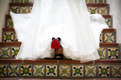 """My Louboutins"" Killer Wedding Shoes"
