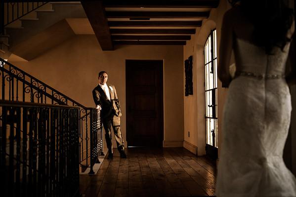 Stylized Wedding Portraits Malibu Rocky Oaks Wedding
