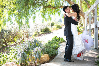 First Look Ranch Del Cielo Wedding Malibu