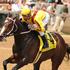 Rachel Alexandra, with Calvin Borel up, wins the Grade II Fleur de Lis Handicap at Churchill Downs in Louisville, KY. 6.12.2010